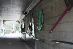 トンネルの中(Inside of tunnel at Shikinomori park, Japan)