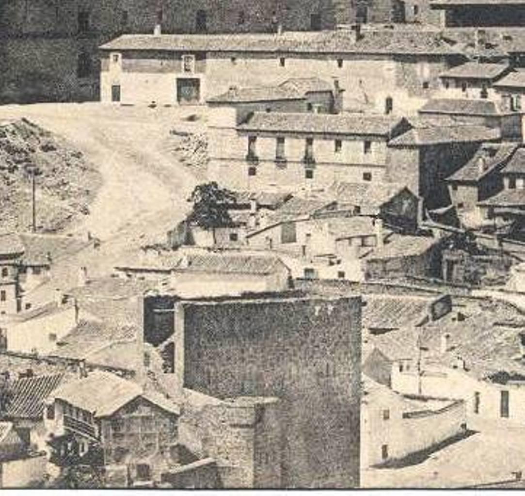 Torre de la Almofala a principios del siglo XX