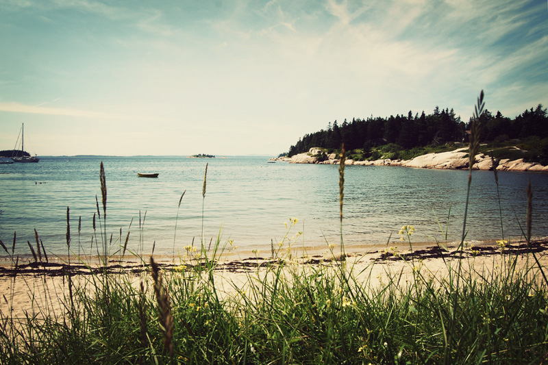 Sand Beach, Stonington, Maine