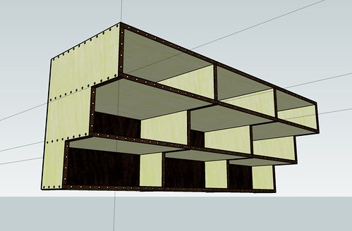 SketchUp shelving idea