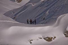 Kollegenweekend (23 von 60) (Kusisenn) Tags: schnee ski powder berge snowboard landschaft sonne freeride skitour lawine snowboardtour schneebrett lidernen hagelstock kollegenweekend