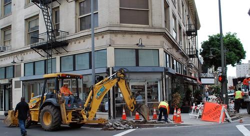 digging Main Street