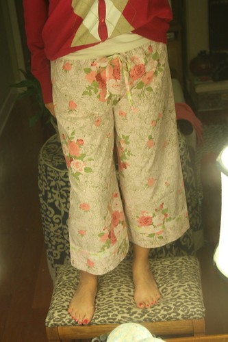 pink picket fence pants