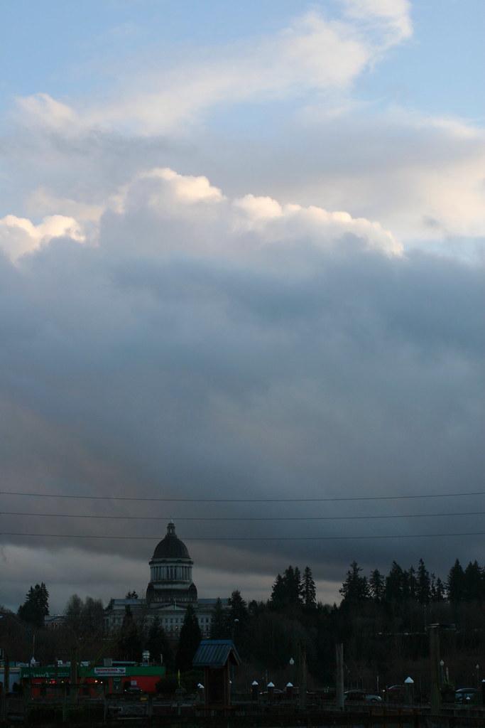 Capitol Cloudscape Majestic Clouds