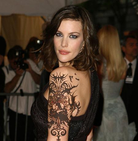 Tattoos Tribal Design for Girl Arm