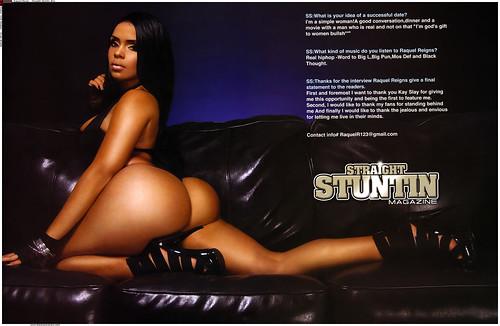RAQUEL REIGN STRAIGHT STUNTIN MAGAZINE PHOTOS - Raquel Reign  Straight Stuntin 11 Pictures