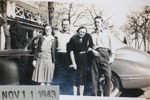 Granddad, his Sister, and Parents