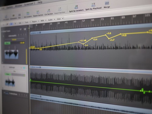 Logic Studio Track Automation