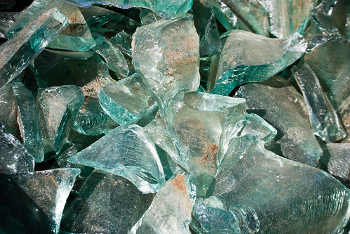 How glass is recycled
