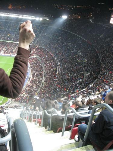 huge stadium
