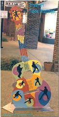 Street Art in Tupelo, Mississippi (Penny Sanford Porcelains) Tags: mississippi mural neon guitar elvis coke fender cocacola stables tupelo lyric lyrictheater pennysanfordfikes gordonfikes pennysanford advertisingmural