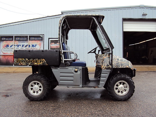 golf cart wraps. Camo Golf Cart Wrap
