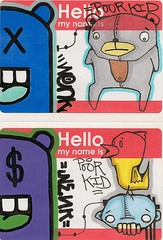 PK/Wenk Collabs (Poor Kid One......) Tags: stickers collab slap poorkid wenk