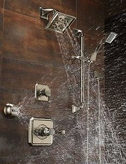 Virage Medium Flow Custom Shower Collection (brizofaucet) Tags: stilllife shower photo faucet virage brizo customshower mediumflow