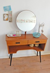 vanity (ATLITW) Tags: wood inspiration vintage mirror frames hand display cabinet vanity retro frame celebrate eclectic 2010 teak thrifted sfgirlbybay alltheluckintheworld janeschouten