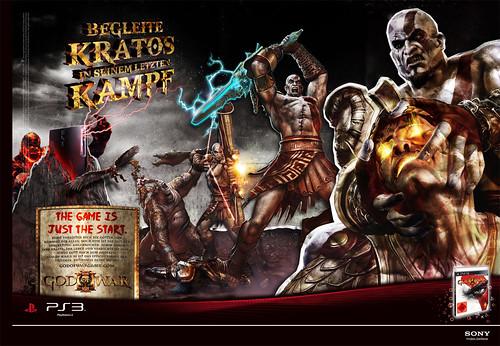 God of War III Print Werbung