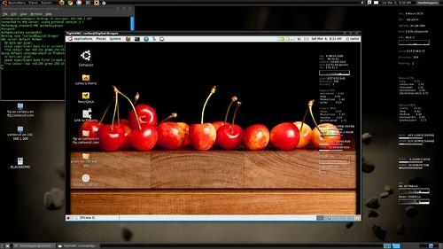 screenshot of vnc viewing