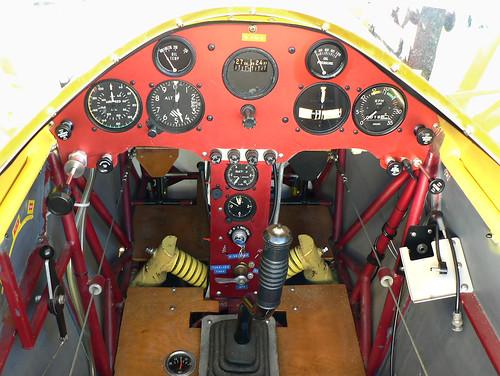 Der Jaeger Cockpit