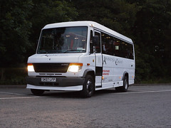 Mercedes-Benz Vario Exterior (Aberfoyle Coaches) Tags: scotland coach coaches hire aberfoyle