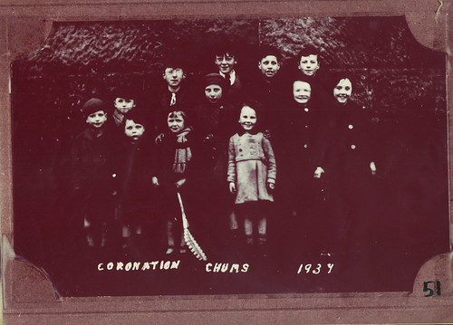 Coronation Chums, Cathcart, 1937.