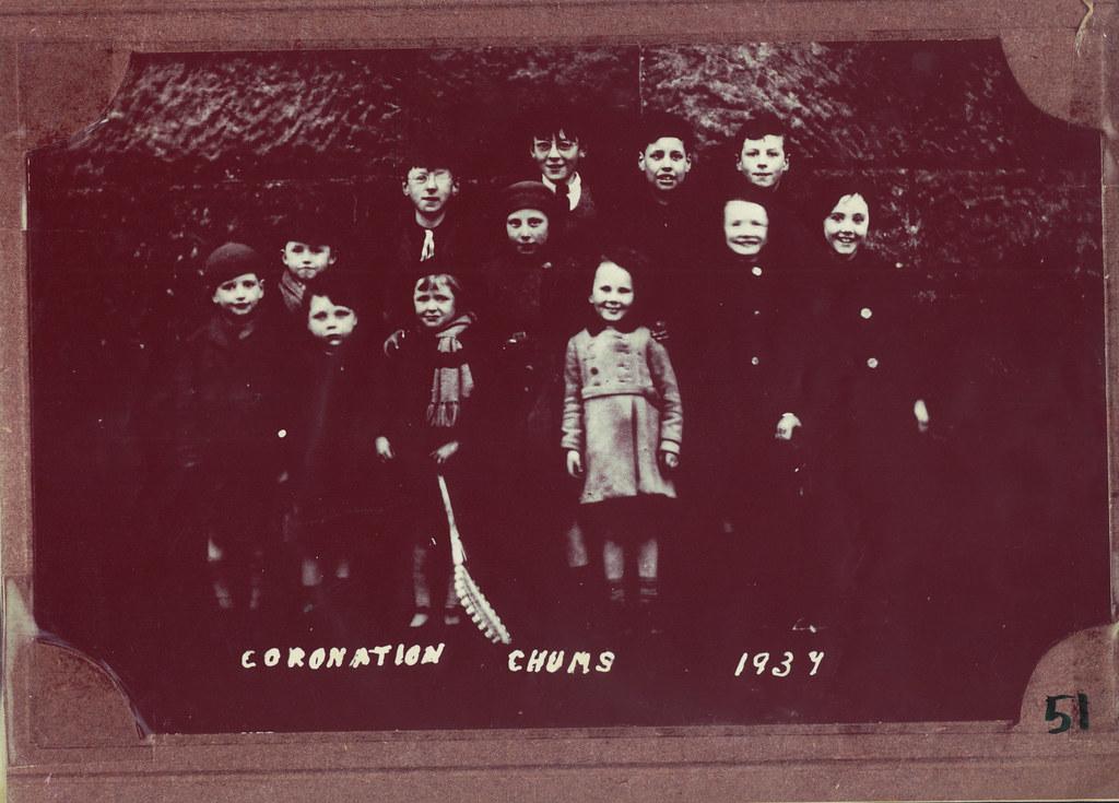 Coronation Chums, Cathcart, 1937.