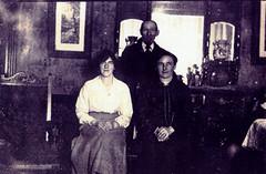 Image titled Tennyson Drive, Tollcross, Mrs Blair, 1920.