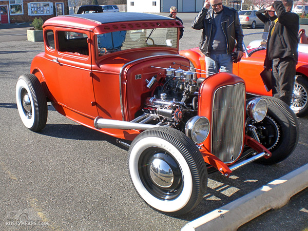 Old School Rod - 29 A, Buick power
