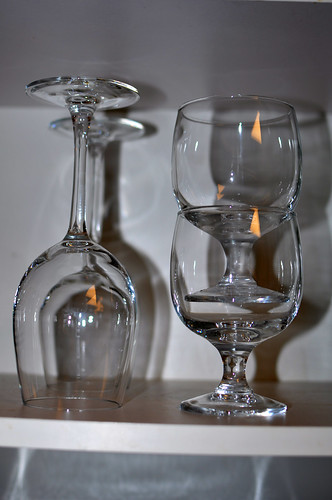 Stacking Wine Glasses