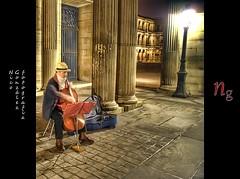 The Cellist (Demodragon) Tags: paris france museum photoshop louvre sony muse museo alpha francia hdr chelo tripode cellist noiseware photomatix violoncelle violonchelo viloncello dslr200 sonyalphadslr200 topazadjust nicogonzlez nicolsgonzlezfonseca nicolasgonzalezfonseca