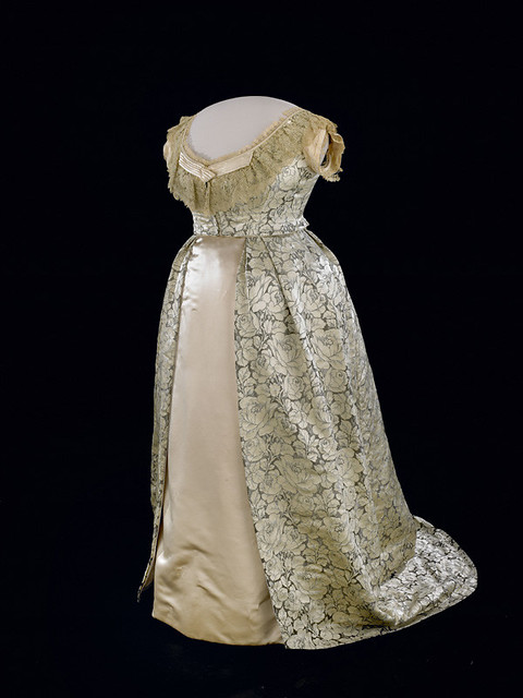 Julia Grants Evening Gown 1870s by national museum of american history