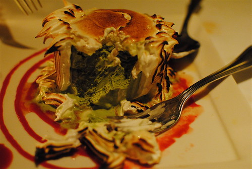 green tea baked alaska