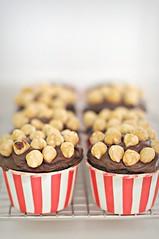 Hazelnut Nutella Cupcakes