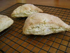 Naked Lavender-Lime Scones