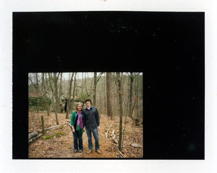 Image of Parker & Meagan:  Polaroids