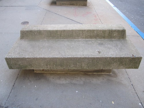 Brutalist Bench in Boston