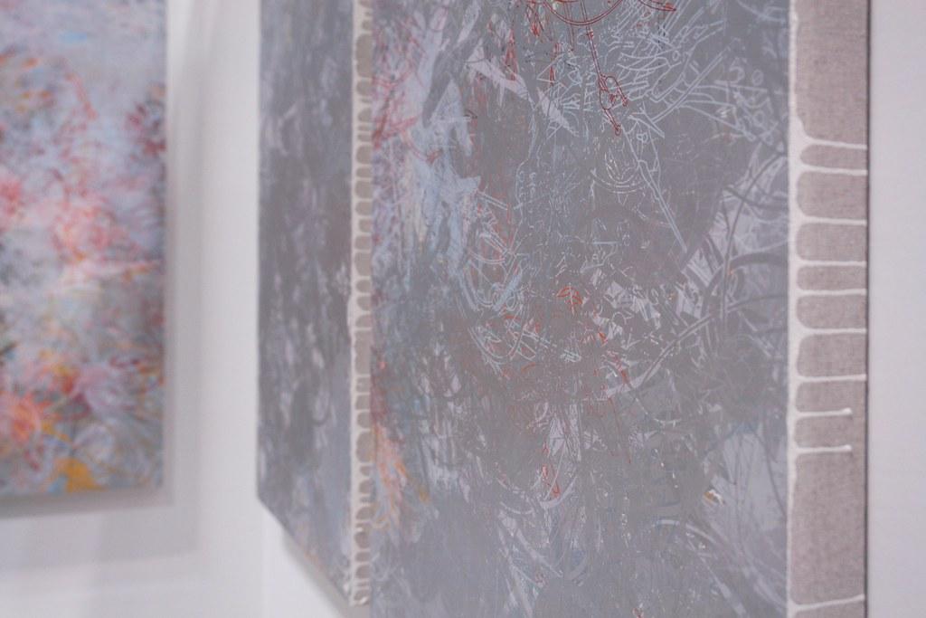 Ryota Sato's silkscreen works.