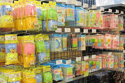 Bento accessories at Ichiban Kan in Japantown