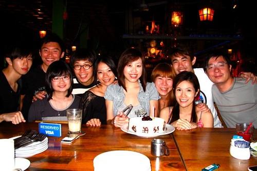 Birthday celeb @ Cafe Iguana