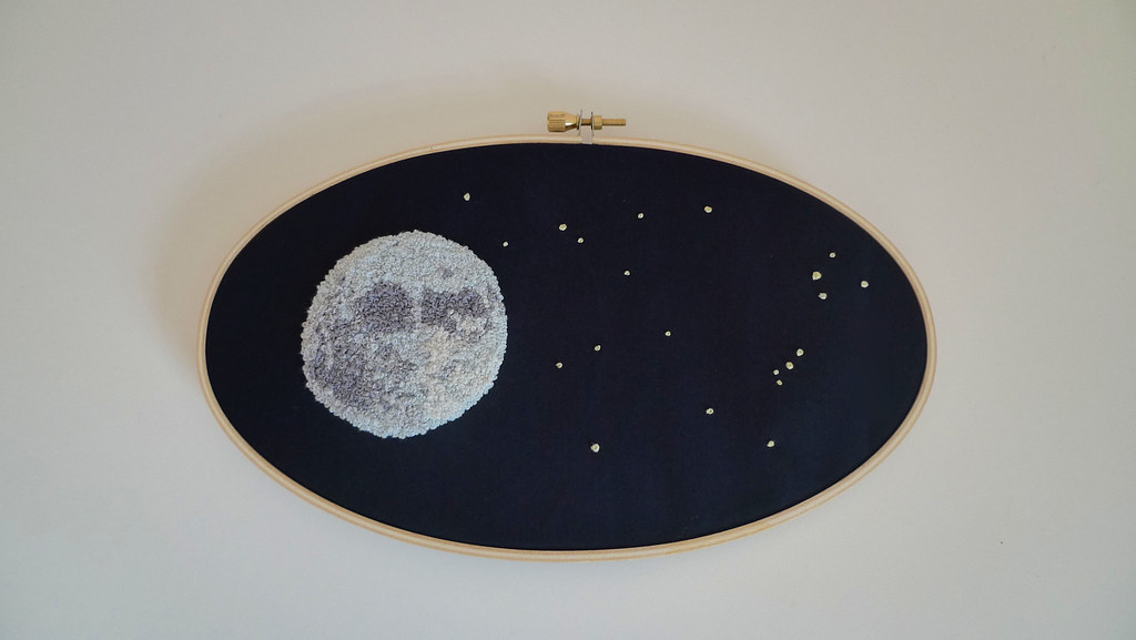 night sky embroidery