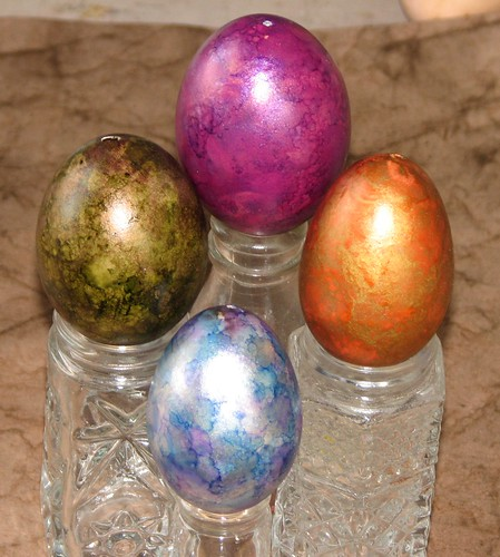 Metallic Easter Eggs 004