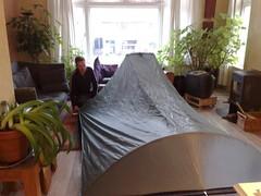 first view tarp tent