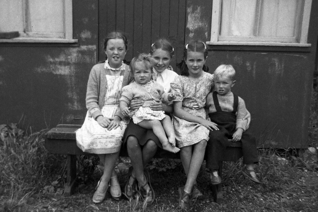 Ross Family,1958.