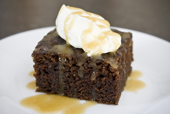 Caramel Chocolate Sponge Cake