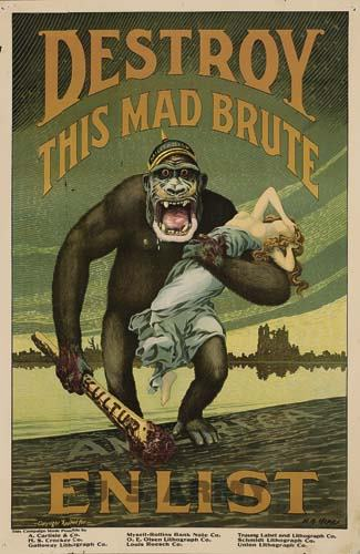 DESTROY THIS MAD BRUTE : ENLIST
