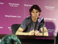 Sony Ericsson Open - R Nadal