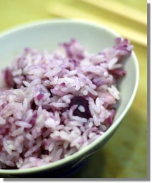 紫色米飯 003