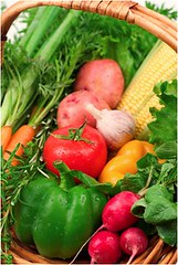 Fresh Vegetables (ConstructionDealMkting) Tags: corn radishes tomatoes onions peppers carrots freshvegetables