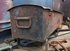 Tool Box (dicktay2000) Tags: metal rust box australia tokina1224 thirlmere img2634 thechallengefactory