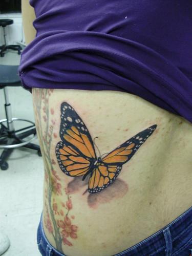 monarch tattoo. pasadenatattoo