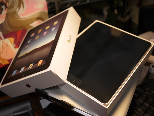 iPad Unbox by Tohru にゃん.